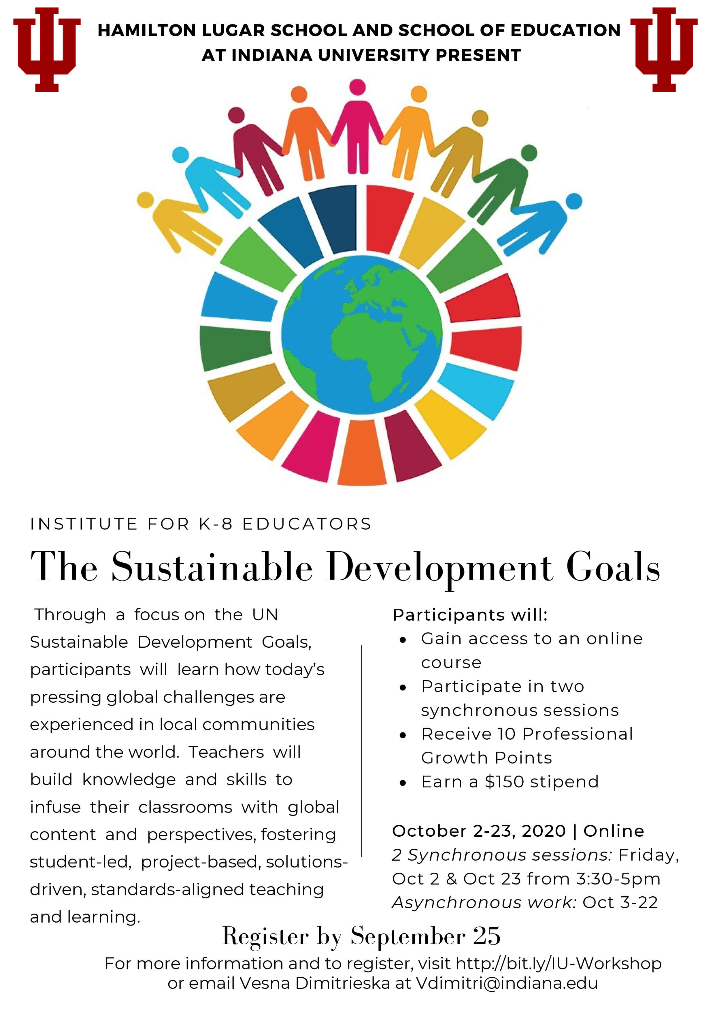 sdgs fall institute flyer